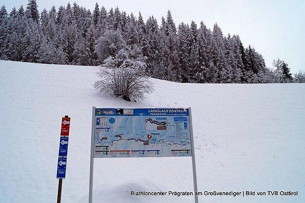 Biathlon - Langlauf und Schießen in Prägraten am Grossvenediger - Virgental