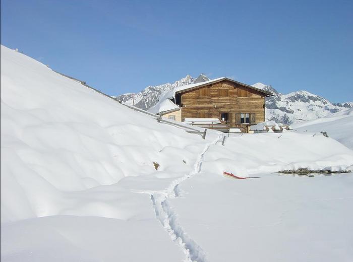 Bergersee Hütte 2.182m