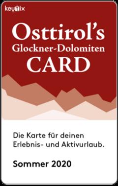 Osttirol's Glockner-Dolomiten Card für Ihren Sommer Urlaub