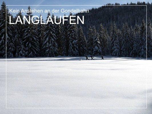 Langlaufen in Südtirol - Das Paradies für Wintersport