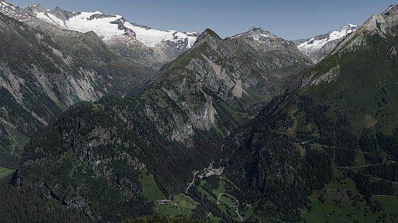 360-Grad-Panoramabild von der Wiesbauerspitze 2.767 m, mehr Bilder auf www.alpenpixel.at