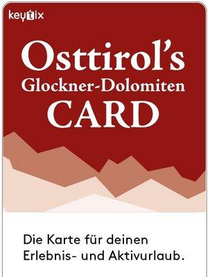 Osttirol Card | 26 Attraktionen für Ihren Urlaub im Sommer