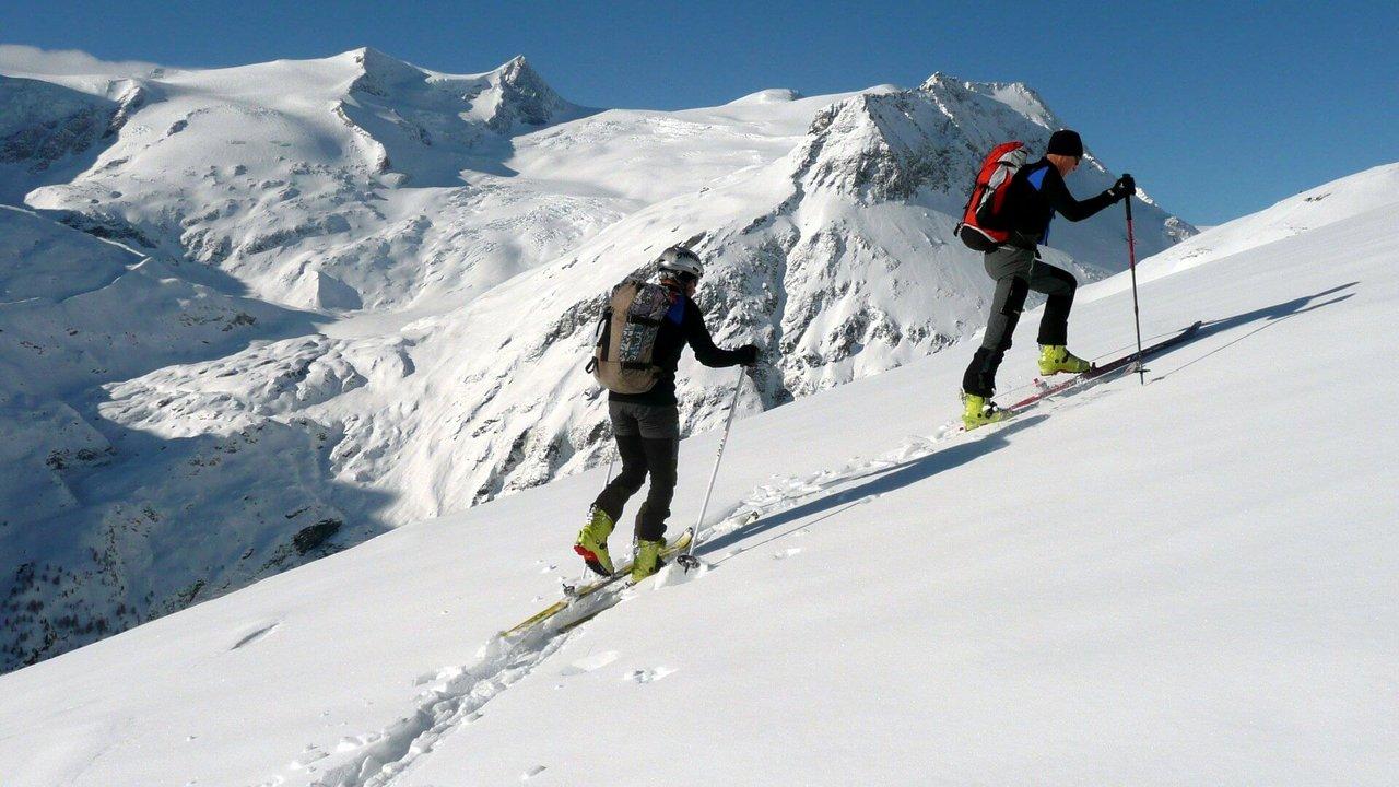 Die richtige Gehtechnik | Bild von Bergführer Mariacher