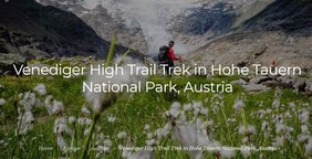 The Venediger High Trail (Höhenweg) is a multi-day trek through the Venediger Group in Austria