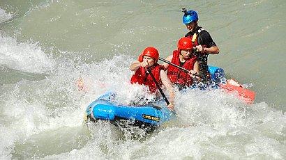 Rafting in Osttirol, du erhältst von den Profis die komplette Ausrüstung