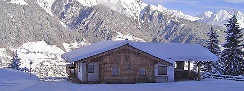Rodelbahn - Winterwanderweg von Virgen zur Würfelehütte