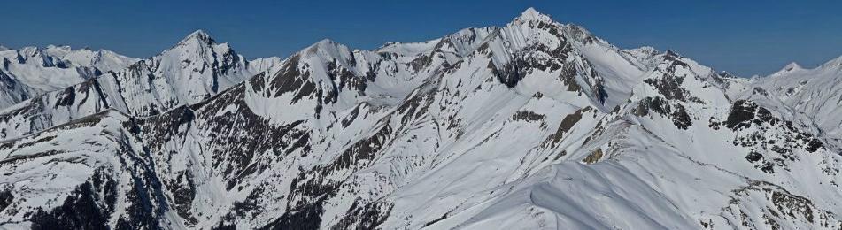 Genieße Matrei in Osttirol im Winter als Panoramabild   www.alpenpixel.at