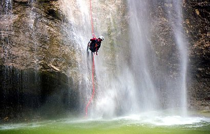 Canyoning & Rafting in Osttirol mit Adrenalin Outdoor Sports