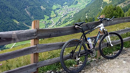 Mountainbiken im Virgental