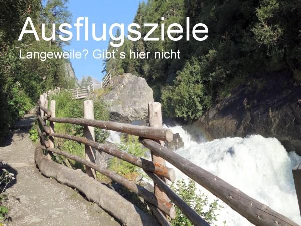 n und Ausflugstipps im Virgental und Osttirol