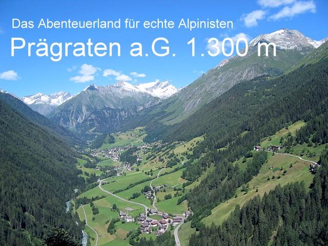 Prägraten - Wanderdorf und Bergsteigerdorf im Virgental