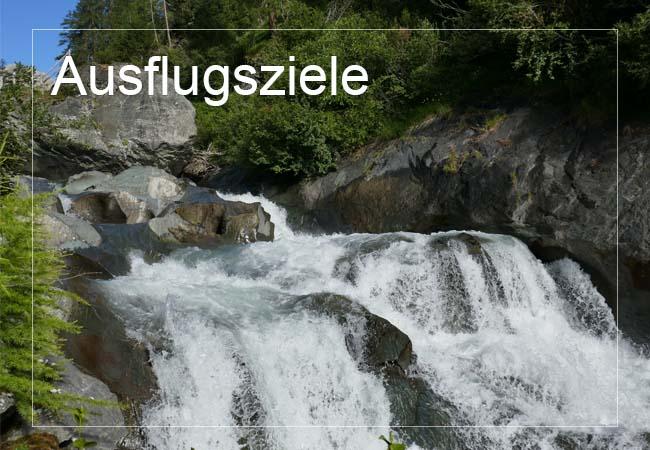 Ausflugszielen und Ausflugstipps im Virgental und Osttirol