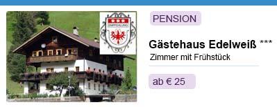 Pension Gästehaus Edelweiß in Osttirol