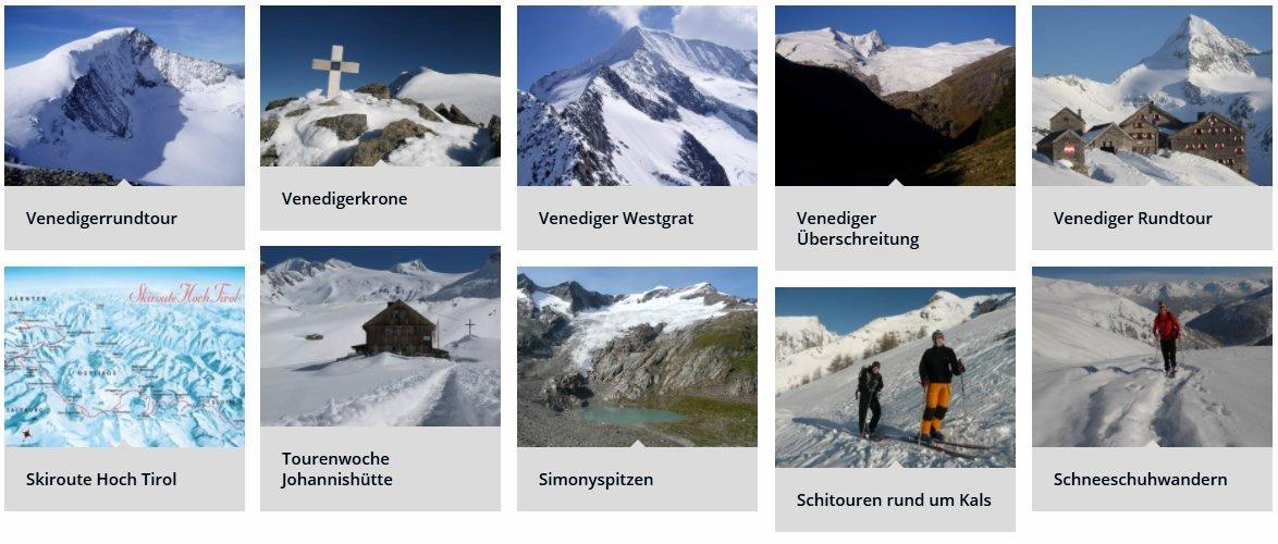 HOCHTOUREN VENEDIGERGRUPPE - Hochalpine Bergtouren über imposante Gletscher und luftige Grate