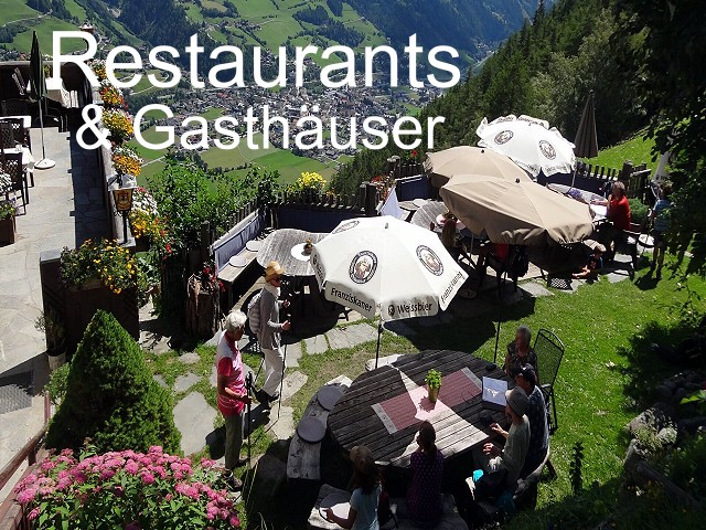 RESTAURANTS & GASTHÄUSER im Virgental - Osttirol