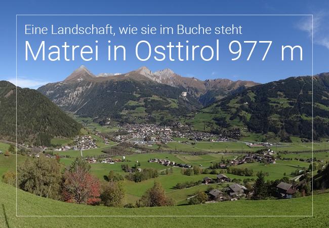 Matrei in Osttirol - Eine Landschaft, wie im Bilderbuch