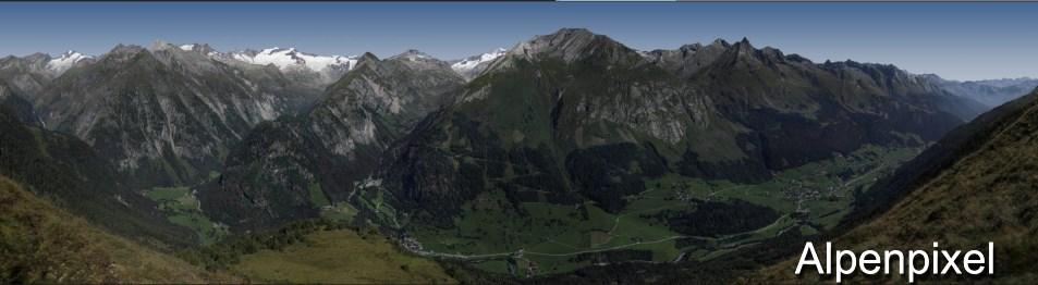 Genieße Matrei in Osttirol im Sommer als Panoramabild   www.alpenpixel.at