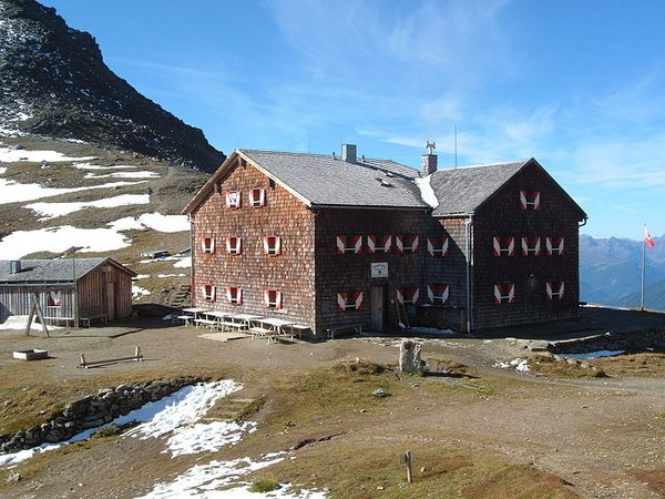 Glorer Hütte 2.642 m