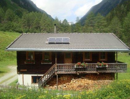 Almhütte Dorferalm, Selbstversorgerhütte in Prägraten Hinterbichl