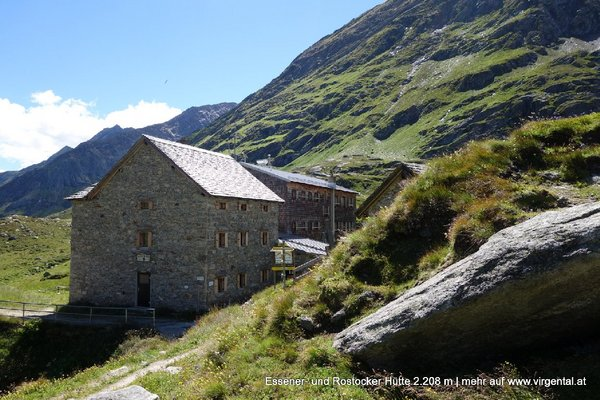 Essener- und Rostocker Hütte 2.208m