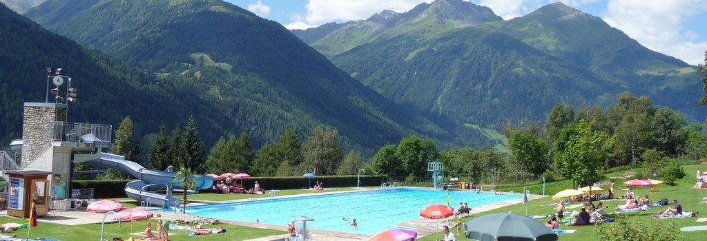 Solarbeheitztes Freischwimmbad in Virgen - Freizeit & Sportarena Virgen