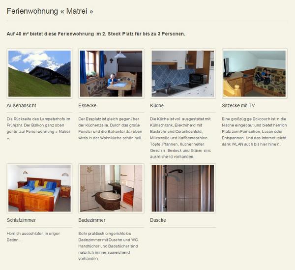 Ferienwohnungen Lampeterhof