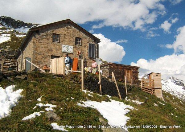 Alte Pragerhütte 2.489 m
