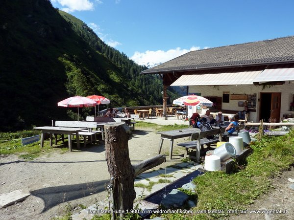 Lasnitzenhütte 1.900 m