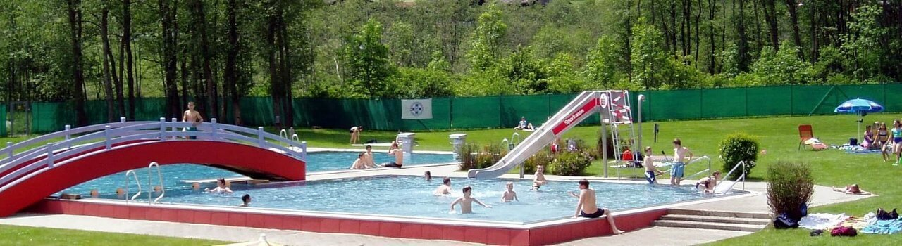 Solarbeheiztes Freischwimmbad Matrei in Osttirol