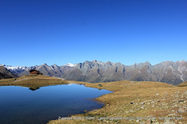 Zupalseehütte 2.350m