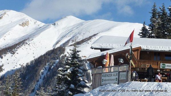 Bergrestaurant Kuenzer Alm 1.760m